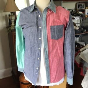 Men's brooks brothers multicolored button down